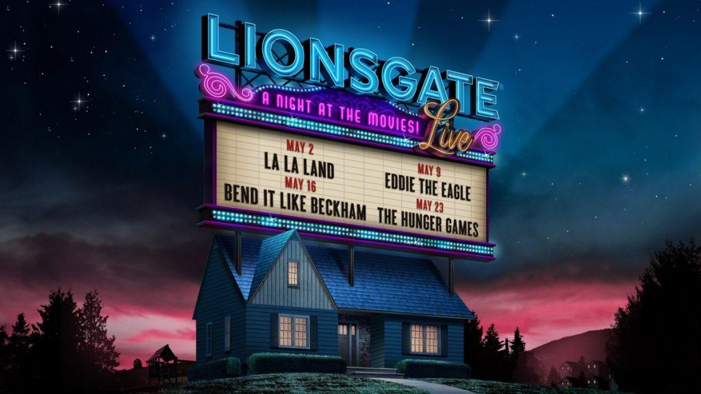 Lionsgate live logo